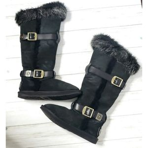 Australia Luxe Collective Tsar Tall Fur Boots